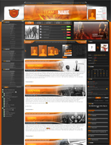 http://www.gamer-templates.de/templates/freedzcpclantemplates/Templatesimage/dzcptemplate12orangesmall.jpg